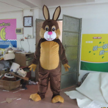 Custom rabbit adult costume cartoon mascot doll