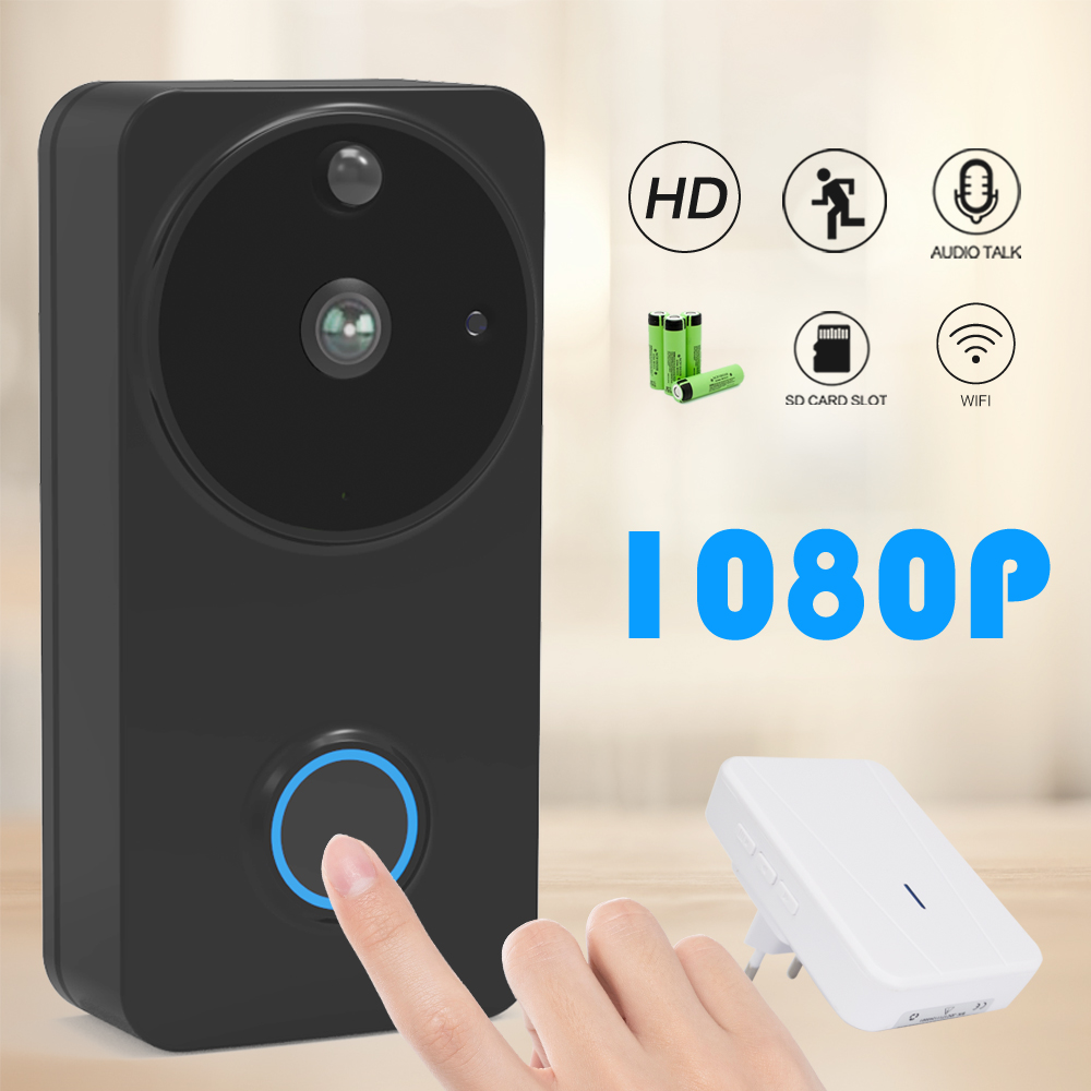 CTVMAN Wifi Doorbell Camera Video Door Phone Doorbells Intercom For Home PIR Alarm Motion Detection Smart Wireless Door Bell
