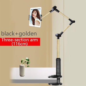 Folding Tablet Holder Long Arm Tablet Phone Stand Holder 360 Rotation Strong Lazy Bed