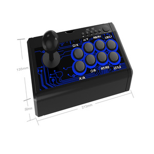 Image 5 - 7 en 1 rétro Arcade Station bâton de combat jeu Joystick USB filaire Rocker pour PS3/PS4/Switch/XBoxOne (S)/360/PC/jeux Android