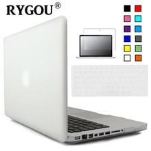 Rygou Crystal Clear Matte Hard Case Cover Voor Macbook Pro 13 Inch A1278 Toetsenbord Cover + Screen Protector Voor Mac boek Pro 13 Case
