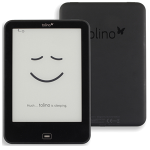 Daily waterproof Tolino Vision 2 e reader e-ink 6 inch 1024x758 touchscreen ebook Reader WiFi Tap2 cover for page turning!(China)