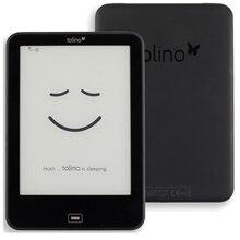 Lecteur quotidien étanche Tolino Vision 2 e e ink 6 pouces 1024x758 écran tactile ebook lecteur WiFi Tap2 couverture pour tourner la page!