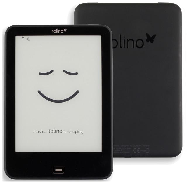 กันน้ำทุกวัน Tolino Vision 2 E Reader E Ink 6 นิ้ว 1024X758 หน้าจอสัมผัส eBook Reader WiFi Tap2 สำหรับ Page Turning!