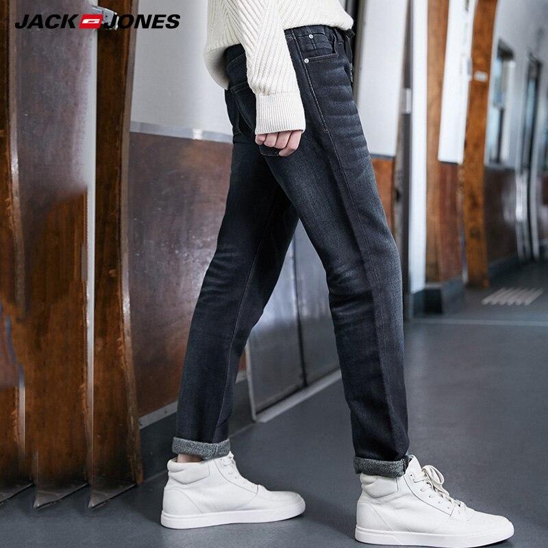 JackJones Autumn And Winter Men's Slim Fit Elastic Denim Pants |219332586