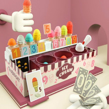 Kitchen-Toys Game Play-House Ice-Cream Math Children for Imitating Role Girls Educational-Toy