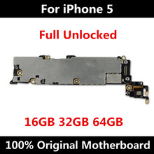 のためのオリジナルマザーボードiphone 5マザーボード公式バージョン16ギガバイト32ギガバイト64ギガバイトとチップiosインストールロジックボード