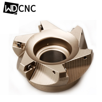 RAP 300R 50-22-4T 400R63-22-4T 400R 80-27-4T 75 Degree Positive Head CNC Milling Cutter face mill 4t