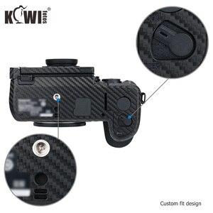 Image 2 - Защитная пленка Kiwi для корпуса камеры с защитой от царапин для Panasonic Lumix DC S1H Camera 3M, наклейка с рисунком из углеродного волокна