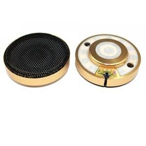 Alta fidelidade 50mm fone de ouvido unidade motorista para bluetooth fone de ouvido diy 24ohm 300ohm substituição nanofibra borda livre boa qualidade 2pc