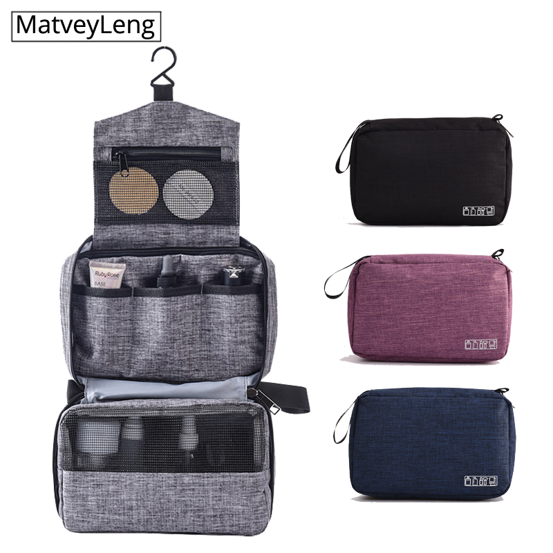 Multifunction Men Women Hanging Cosmetic Bag Folding Travel Organizer Toiletry Wash Make Up Storage Pouch Beautician Makeup Bag