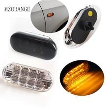 цена на 1Pair Car Side Marker Light Amber LED Turn Signal Lamp With Smoked Lens For VW Jetta Golf 4 GOLF4 Mk4 Passat B5 B5.5 1999 - 2004