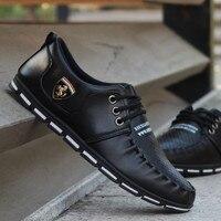Мужская обувь мужская повседневная обувь новая Теплая обувь в горошек Мужская обувь без застежки Молодежная обувь британская кожаная обув...