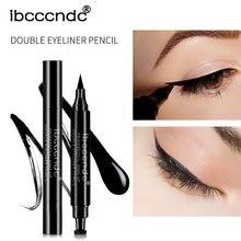 Get more info on the Makeup Eyeliner Stamp Wing Pencil Double-Headed Black Liquid Eye Liner Cosmetics 2 in 1 Waterproof Long-lasting Eyeliners Pen