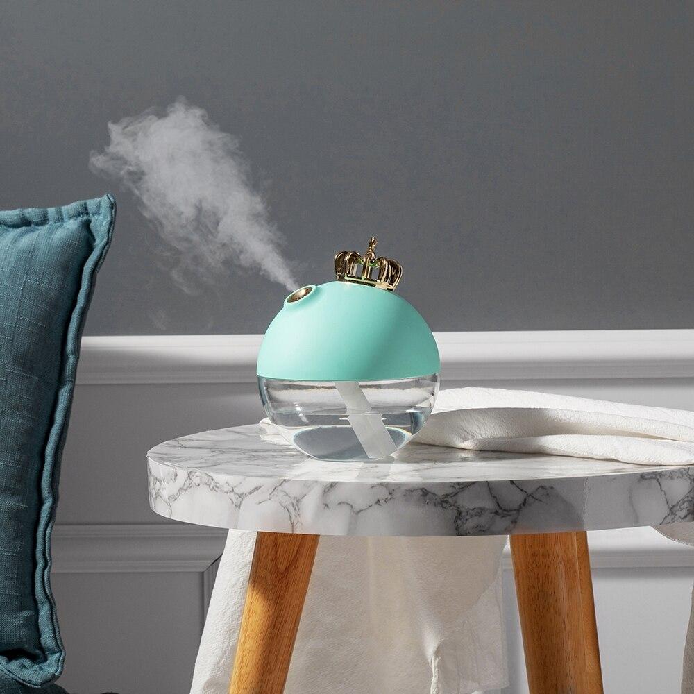 Купить с кэшбэком 2020 Creative new crown humidifier mini usb home desktop air humidifier atomizer gift customization