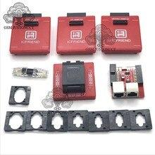 2020 IC FRIENED MOORC Emate box E mate X EMMC BGA 13 IN 1 Support BGA100/136/168/153/169/162/186/221/529/254 for Easy jtag plus