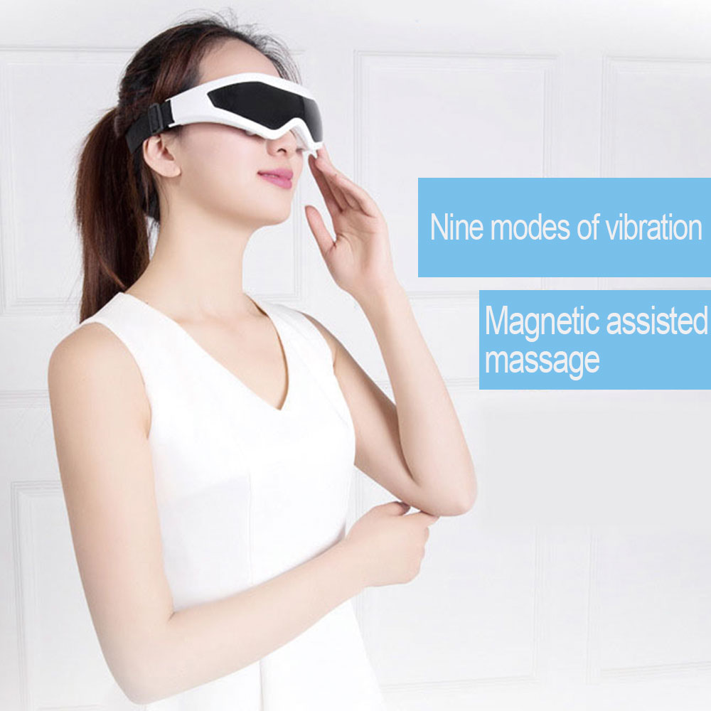 Electric Eye Mask Massager Health Care Beauty Magnetic Wrinkle Small Massor Ergonomic Design Electronic Eye Massager Vibrator in Massage Relaxation from Beauty Health