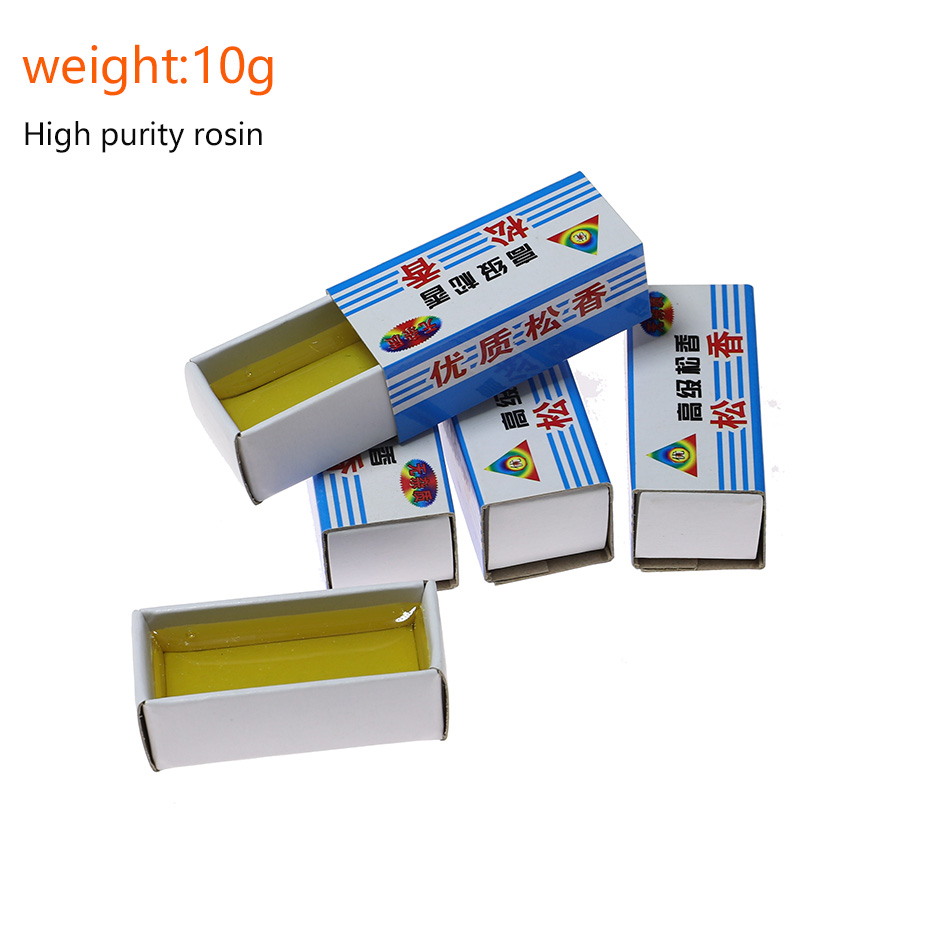 12g Carton Rosin Flux Paste PCB IC Parts For Electric Soldering Iron Soft Solder Welding Fluxes Scaling Powder