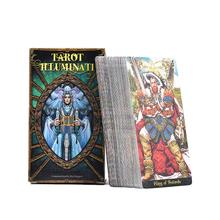 78 шт. Таро Иллюминаты комплект Таро карточный стол палубные игры для семьи вечерние игральные карты на английском языке настольные игры развлечения