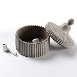 Betonowe cukierki pudełko z biżuterią formy silikonowe formy do przechowywania cementu Craft glina żywiczna narzędzia