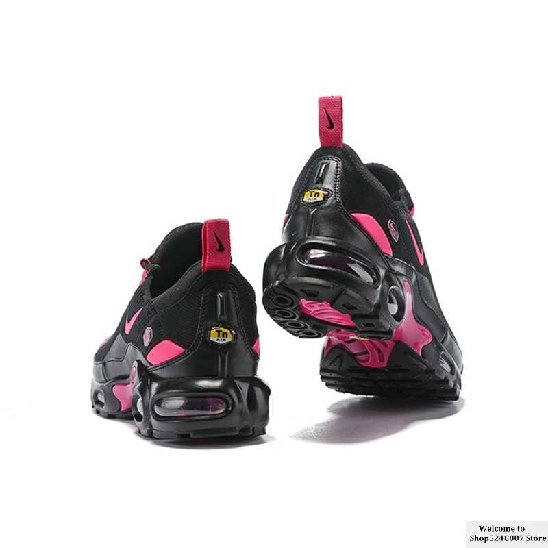 Baskets Nike Air Max Plus TN 270 pour femme taille 36-39 noir rose