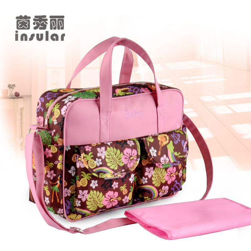 Insular Pregnant Women Multi-functional Shoulder Diaper Bag Fashion MOTHER'S Bag Hand Maternity Package Processing Wholesale
