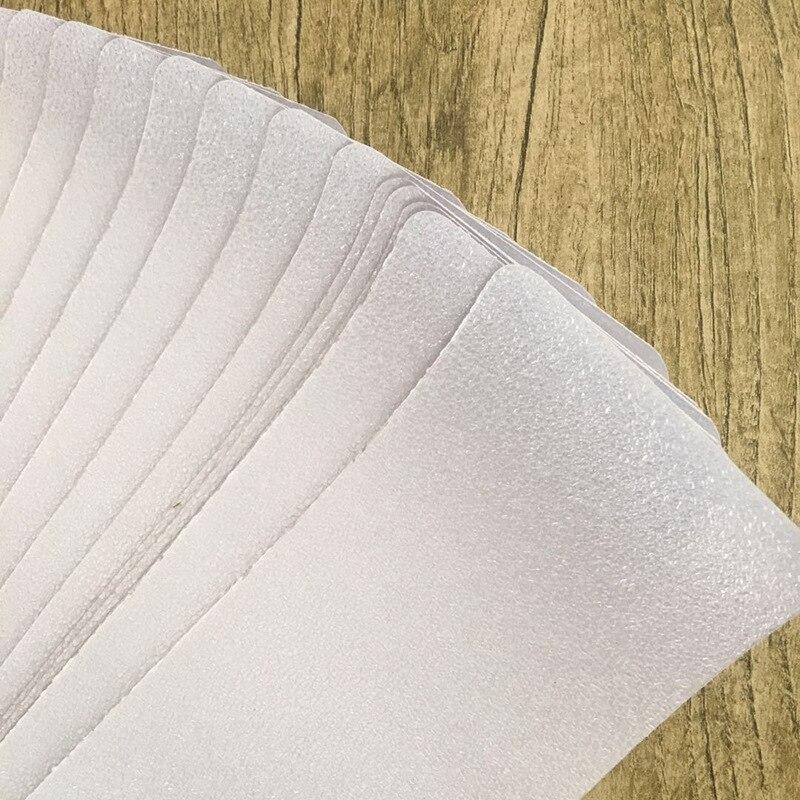 MINIFUN 6 ''x 32'' peldaños antideslizantes cinta transparente antideslizante tiras de suelo con rodillo para niños mascotas seguridad Paquete de 15 - 5