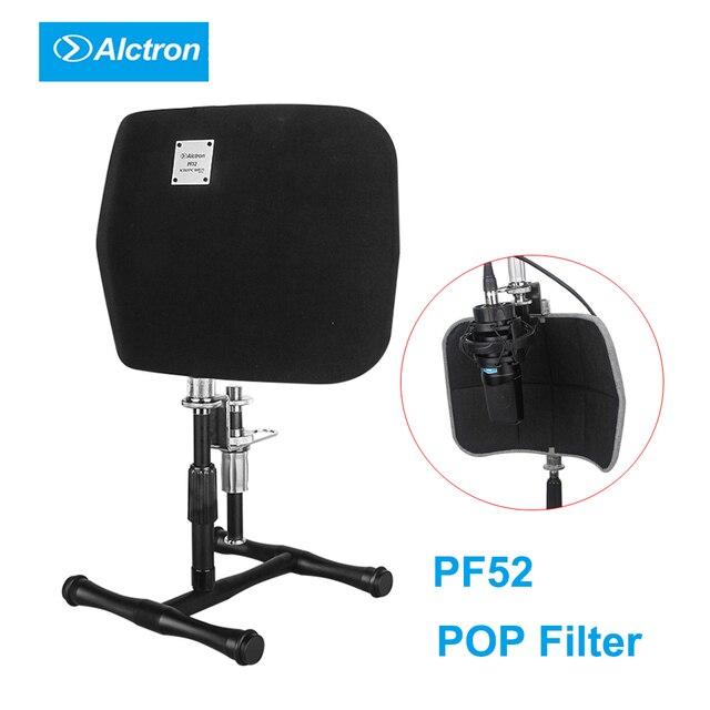 Alctron PF52 Studio Microfoon Screen Akoestische Filter Draagbare Desktop Opname Voorruit Pop Filter Microfoon Accessoire