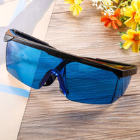 Laser Safety Glasses For Violet/Blue 200 450/800 2000nm Absorption Round Protective Goggles Laser Protective Glasses Goggles|Safety Goggles| |  -