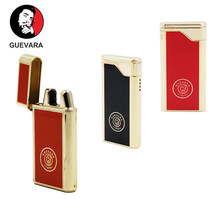 Guevara Torch Lighter Butane Lighters Refillable Fluid Protable Windproof Lighter for BBQ Fireworks for Cooking(China)