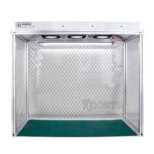 Image 3 - הכי חדש אבק משלוח חדר שולחן ניקוי אנטי סטטי אלומיניום סגסוגת אבק משלוח ספסל עבור LCD שיפוץ טלפון תיקון ציוד