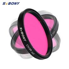 """SVBONY 2"""" Filtro de infrarrojos de corte UV / IR para CCD monocromático para telescopio astronómico F9127B"""