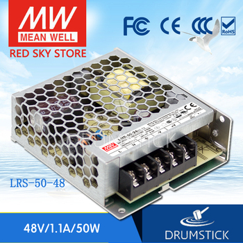 kindly MEAN WELL 6Pack LRS-50-48 48V 1.1A meanwell LRS-50 48V 52.8W Single Output Switching Power Supply
