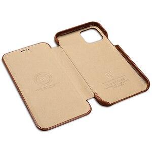 Image 3 - ICARER funda de piel auténtica Original para iPhone 11/ Pro/ Max, funda de lujo con tapa para Apple iPhone 11 Pro Max