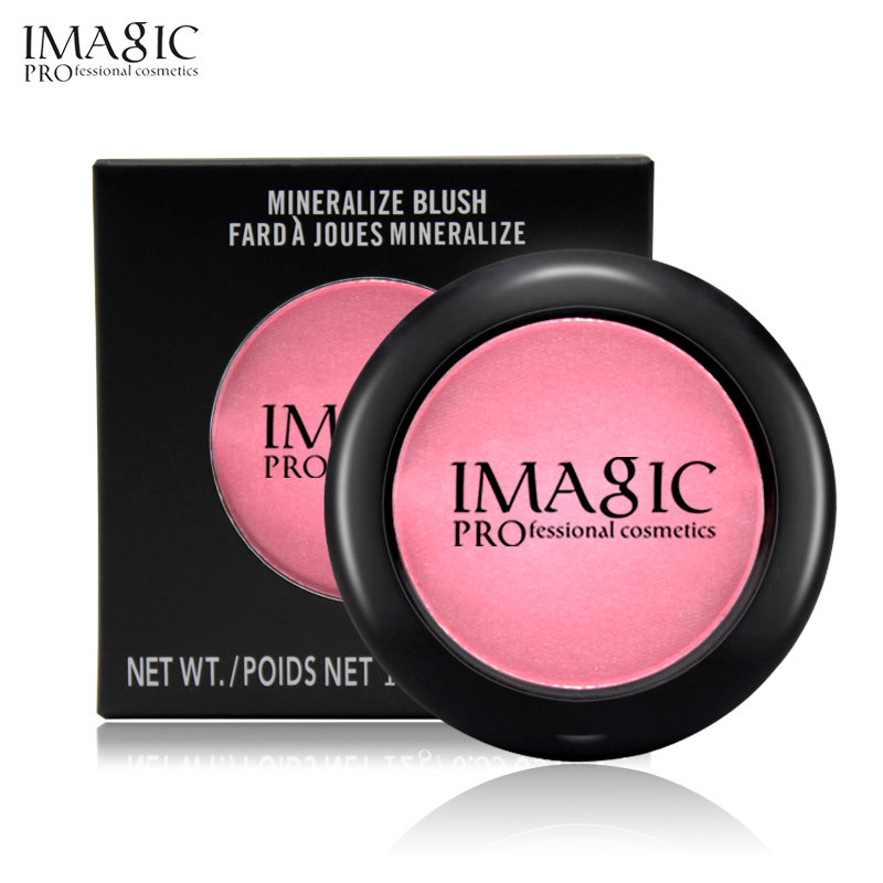 IMAGIC Brand 8 Color Professional Blusher Natural Face Pressed Makeup Palette Waterproof Nature Finish Beauty