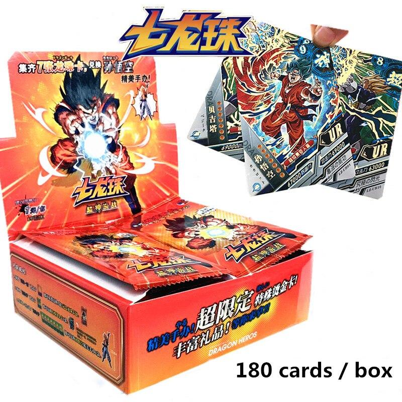Оригинальные игровые карты Dragon Saiya 180-210 шт./кор. TCG настольные игрушки для семьи и детей Рождественский подарок