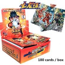 Original dragão saiya 180-210 pçs/caixa tcg jogo cartões mesa brinquedos para a família crianças presente de natal