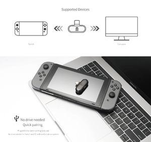 Image 5 - Gulikit Route+ Pro Bluetooth Audio Adapter Wireless Transceiver USB C Adapter For Nintend Switch PC Support in Game Voice Chat