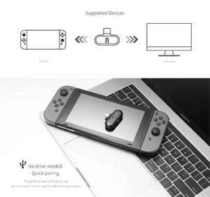 Image 5 - Gulikit Route + Pro 블루투스 오디오 어댑터 무선 트랜시버 USB C 어댑터 Nintend Switch PC 지원 게임 내 음성 채팅