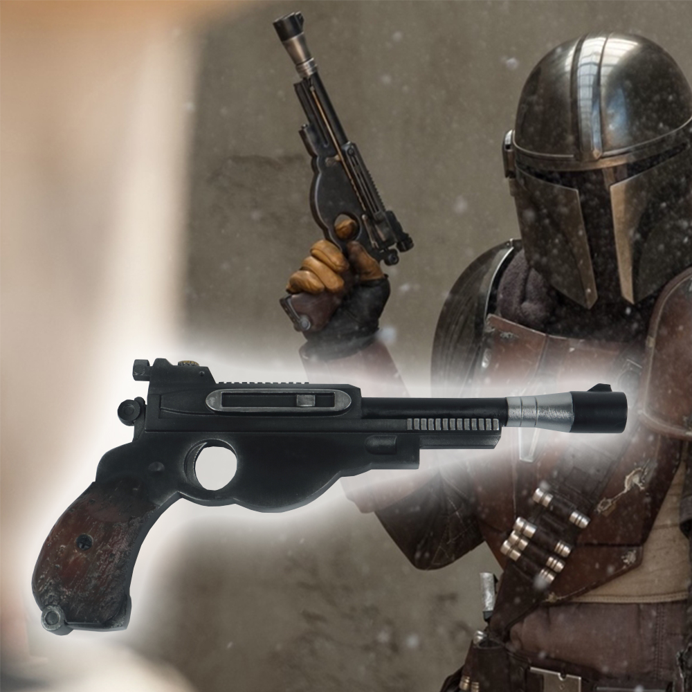 Cosplay Star Wars The Mandalorian Blaster Boba Fett Pistol Props Resin Toy Star Wars Accessories