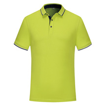 Hot-selling POLO Shirt Cotton Leisure Fashion Super-cool Fiber manufacturer's business sympathy shirt For Men And Women HD402