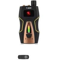 Barato T8000 Pro Seguridad RF Bug Detector de señal de cámara Anti Candida escáner de frecuencia GPS