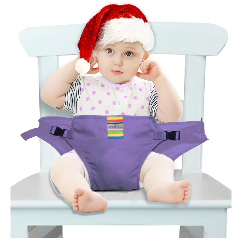 The Washable Portable Travel High Chair Booster Baby Seat Straps Toddler Safety Harness Baby Feeding Kids Dinning Chair Belt