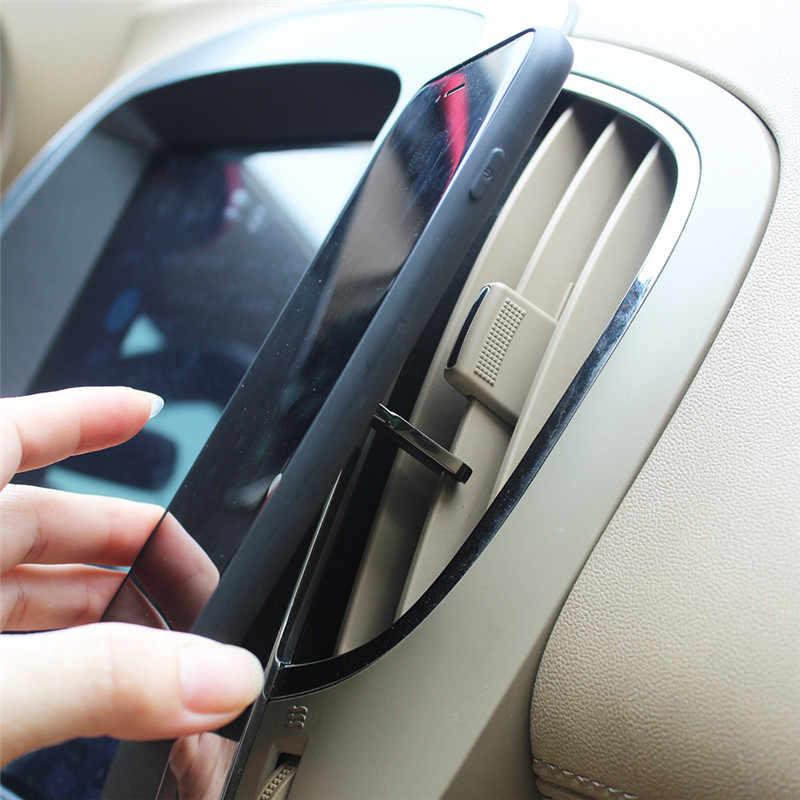 טלפון סלולרי תכליתי מחזיק 360 תואר רכב אוויר Vent אחיזה הר Stand Rotatable אצבע טבעת טלפון מחזיק סוגר עבור Iphone