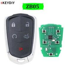 ZB05 5 de llave inteligente Universal KEYDIY para KD X2 llave de coche reemplazo remoto se adapta a más de 2000 modelos