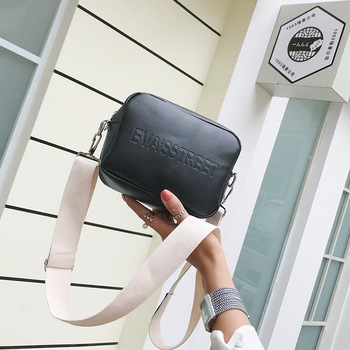 fashion rivet casual shoulder bag messenger bag retro simple women bag handbag ladies flap motorcycle bag 18b9 Brand Designer Leather Women Bag Ladies Shoulder Messenger Bags Handbag Letter Flap Simple Fashion Females Crossbody Bag