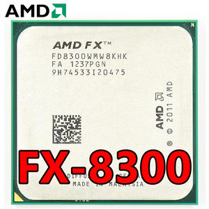AMD Processor-Socket CPU FX-8300 Am3  Eight-Core Ghz 95W Package 8M Cache Bulk