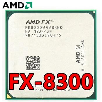 AMD Eight-Core FX 8300 3.3 GHz 8M cache CPU Processor Socket AM3+ 95W FX-8300 Bulk Package FX8300