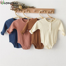 Kids Girl Boy Rompers Long Sleeve Jumpsuit Outfit Set