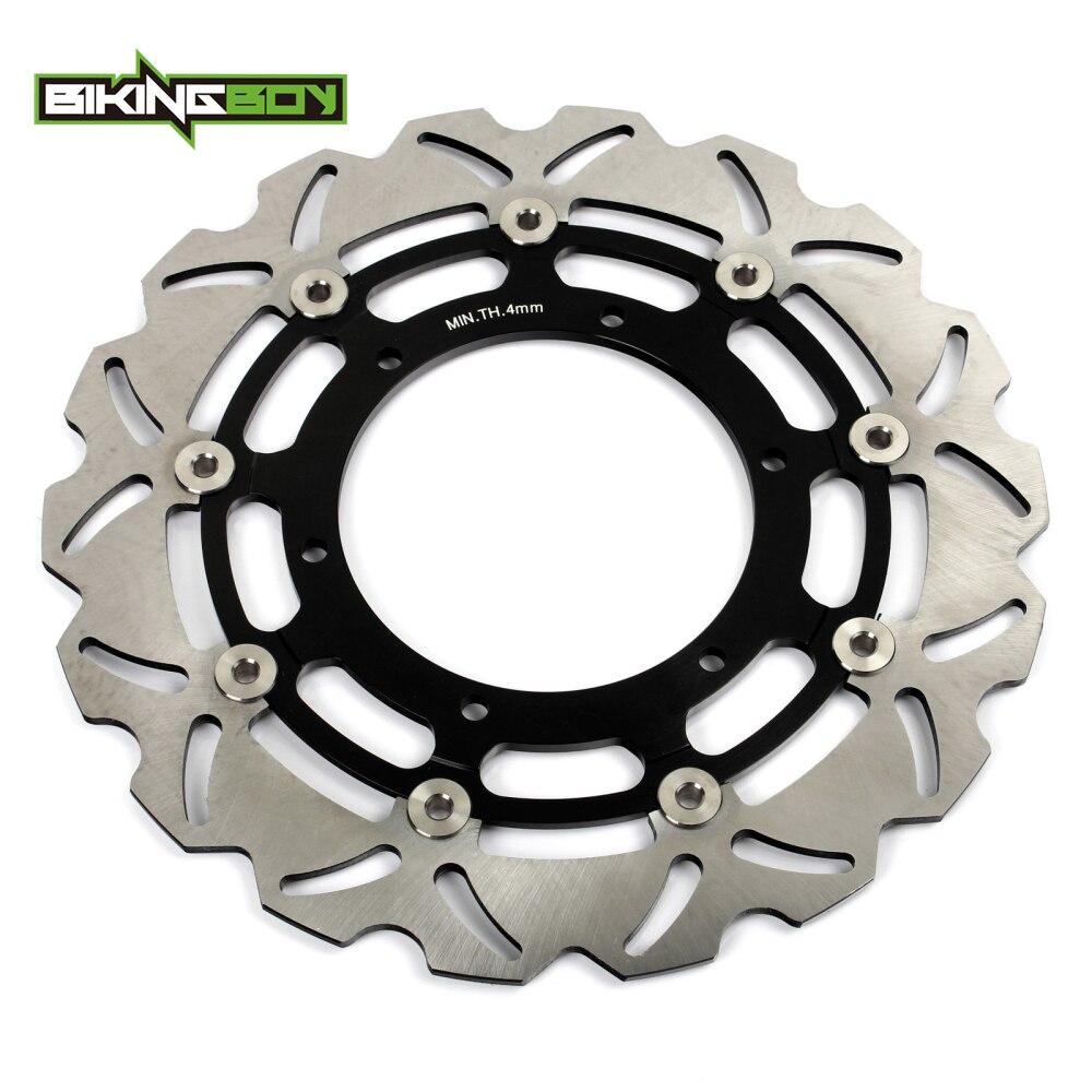 BIKINGBOY WR 125X09 14 XT 660 R 04 14 XVS 650 Dragstar Classic 97 06 XJ 600 S DIVERSION 98 03 02 ротор дисковых передних тормозов дисков